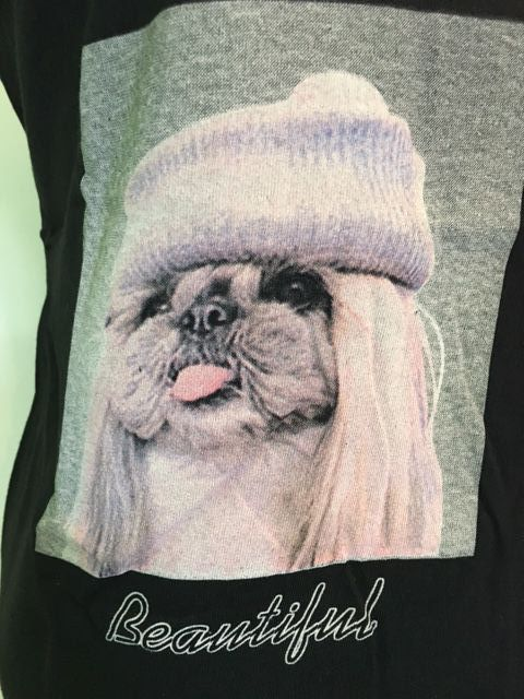 Tee shirt chien 4 photos