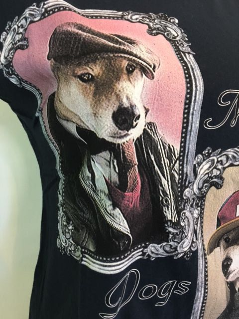 Tee shirt mysterious dogs