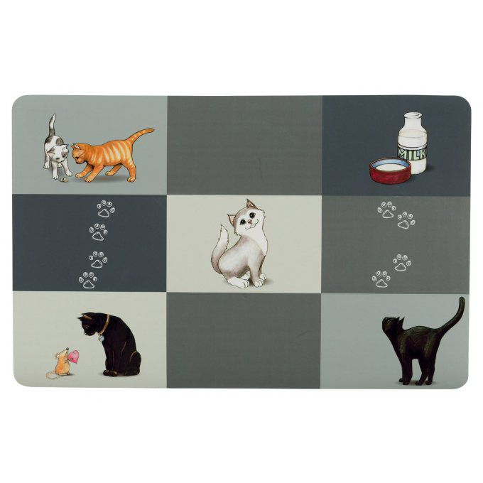 Set de table patchwork chat