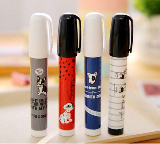 gomme crayon chien