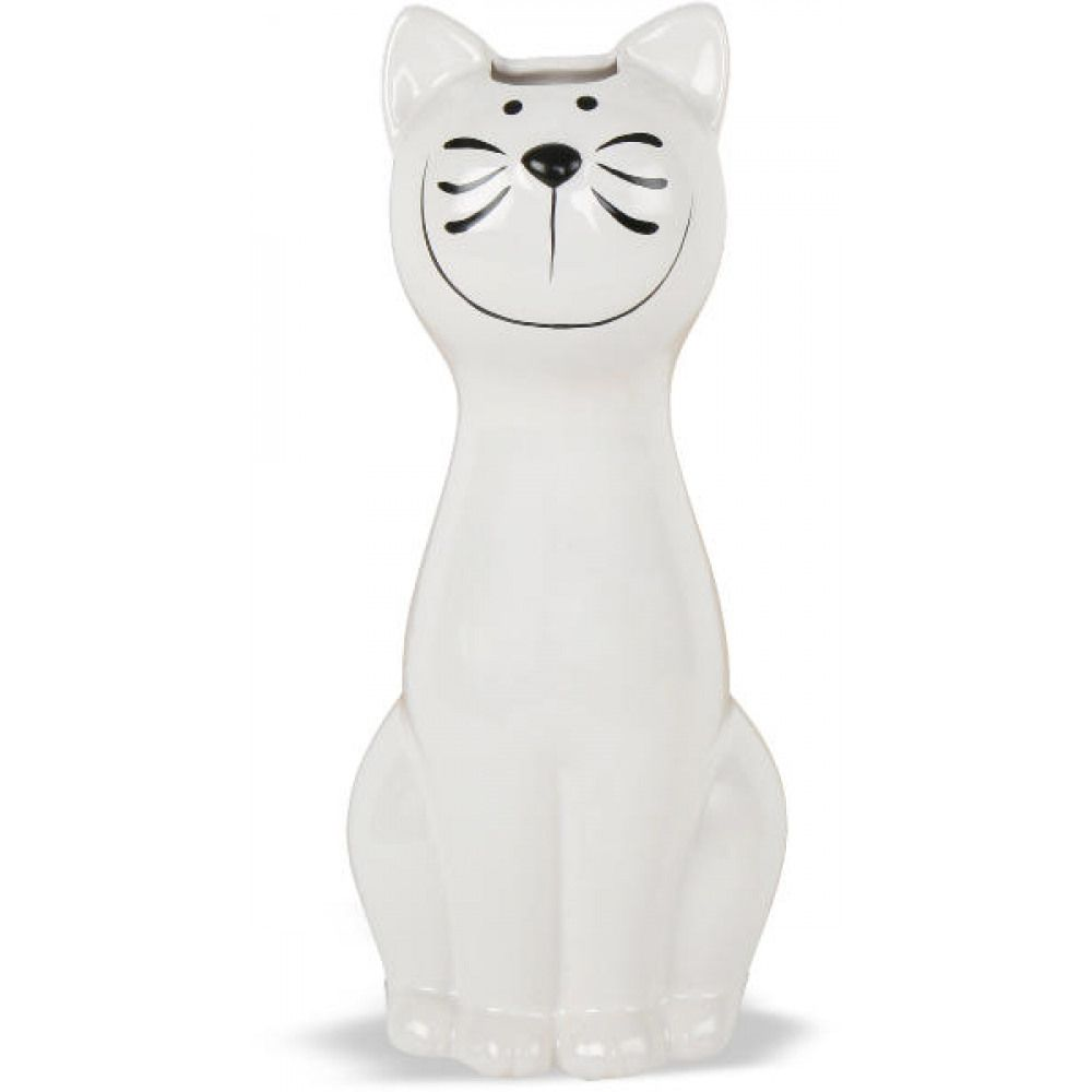 humidificateur chat blanc