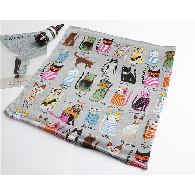 Foulard races de chat