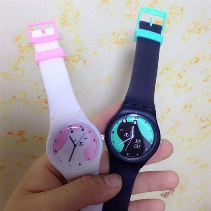 montre Mr ou Mme chat