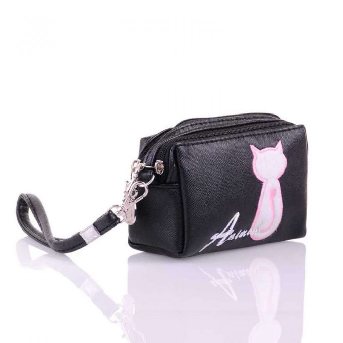 porte-monnaie chat animob
