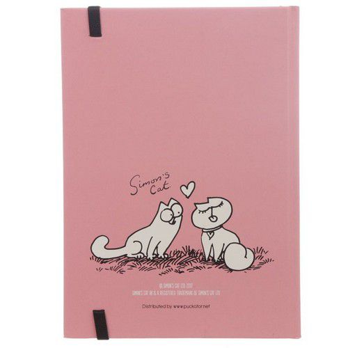 Cahier chat Love Meow