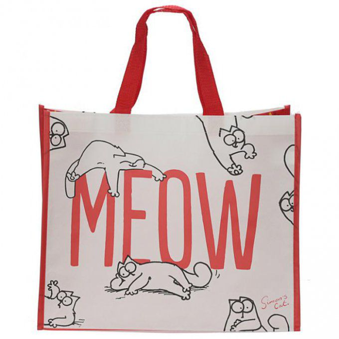 sac à courses chat meow
