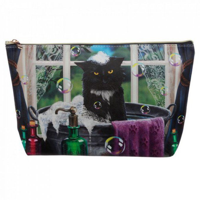 Trousse de toilette chat lisa parker