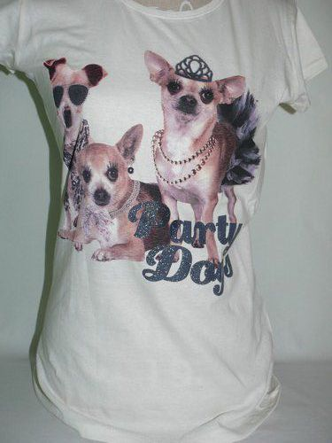 Tee-shirt chihuahua party